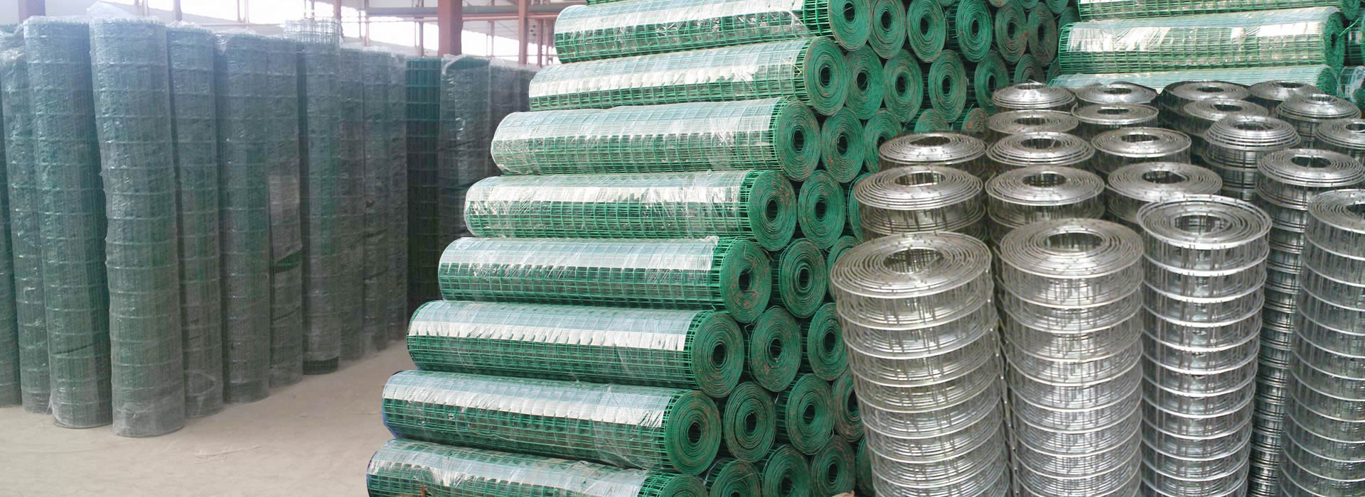 PVC Coated Welded Mesh Hardware Cloth, Square Opening