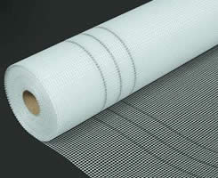 White Color Fiberglass Mesh Roll