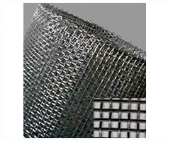 Woven Mesh Type Hardware Cloth, with pre-crimped wire
